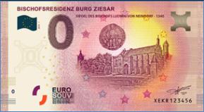 [Collecte Expédiée] Billet Allemagne BURG ZIESAR - 2019 Sans_t12