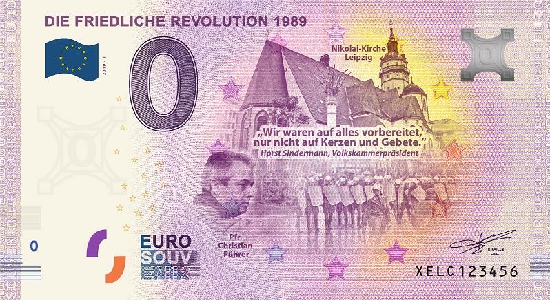 [Collecte expédiée] ALLEMAGNE - Die Friedliche Revolution 1989 - 2019-1 Xelc10
