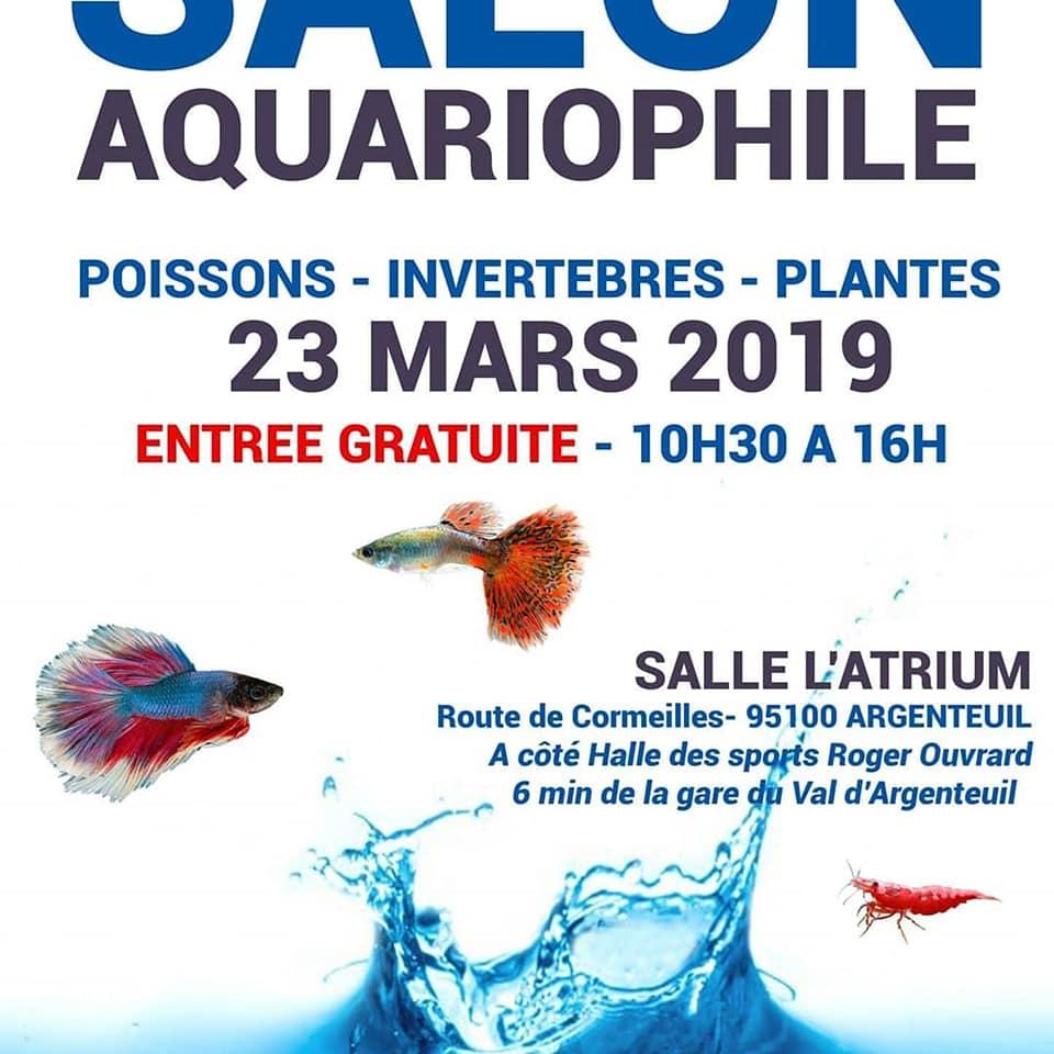 SALON/BOURSE AQUARIOPHILIE AVOBACS d'Argenteuil le 23 Mars 2019 51236010