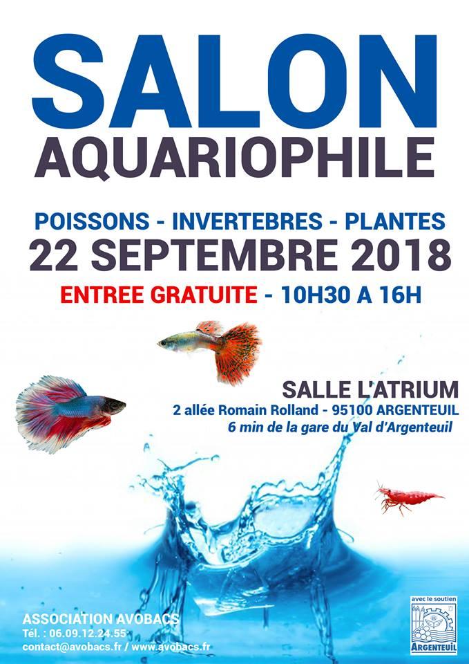 SALON/BOURSE AQUARIOPHILIE AVOBACS d'Argenteuil le 22 septembre 2018 Bourse11