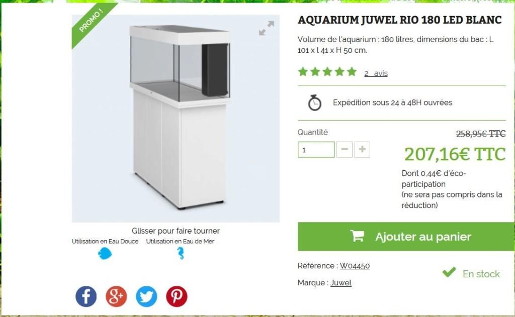 Mon nouveau projet, le N° 20 ! Un RIO LED 180 litres Juwel Rio_1810