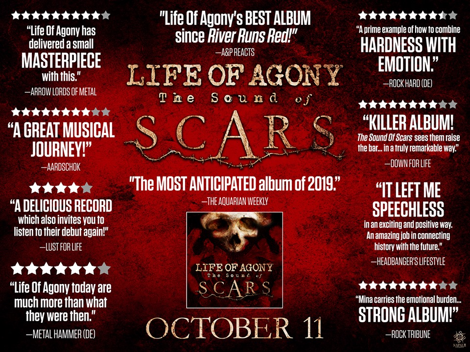 Life Of Agony: The Sound Of Scars (2019) 72310210