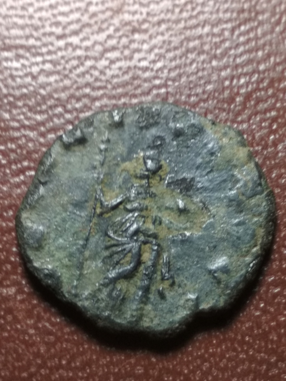 Antoniniano de Galieno. SECVRIT PERPET. Seguridad apoyada en columna. Roma Img_2071