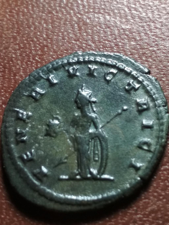 Antoniniano de Galieno. VENERI VICTRICI. Venus a izq. Antioquía Img_2089