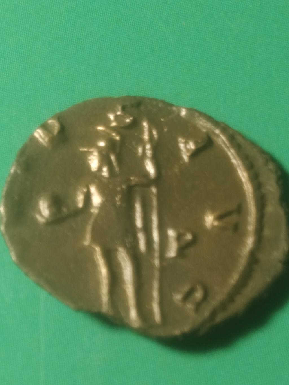 Antoniniano de Galieno. VIRTVS AVG. Valor a izq con lanza y bola. Roma Img_2105