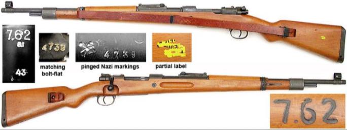 Mauser 98K Israël 7.62Nato Captur11