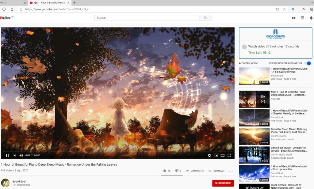 Gana vistas, minutos y suscriptores en tu canal de youtube Screen20