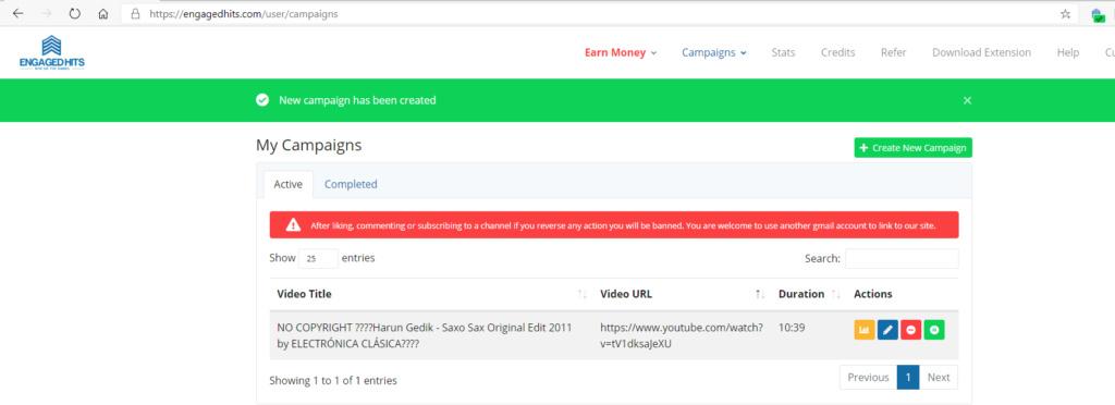 Gana vistas, minutos y suscriptores en tu canal de youtube Screen25