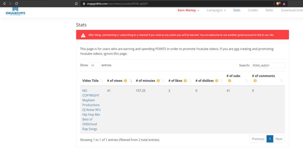 Gana vistas, minutos y suscriptores en tu canal de youtube Screen26
