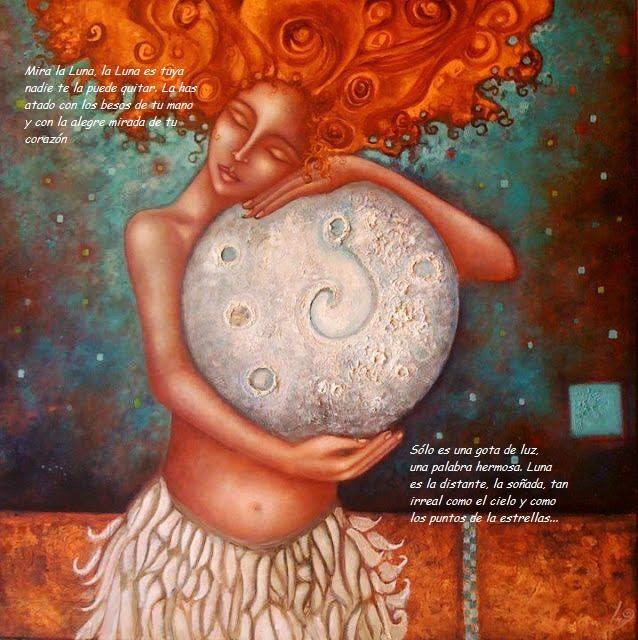 La belleza de la luna Mujer-10