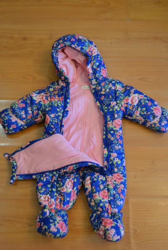 Продам детский осенний комбинезон на девочку рост 68-74 Screen15