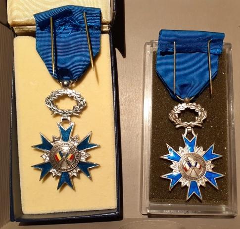 Médailles de chevalier de l'ONM 20210810