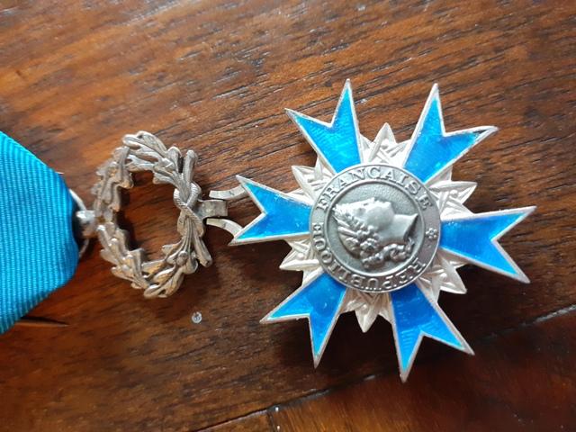 Médailles de chevalier de l'ONM 20210812