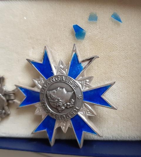 Médailles de chevalier de l'ONM 20210910