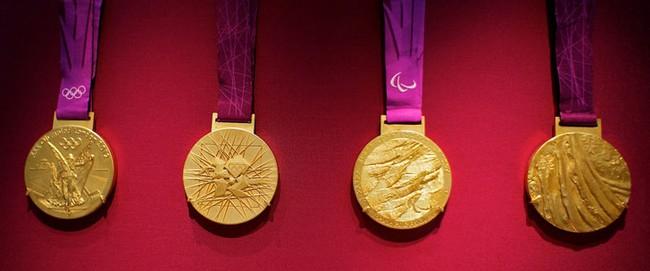 Une médaille d'or olympique est composée de 98,9% d'argent ! Medail10