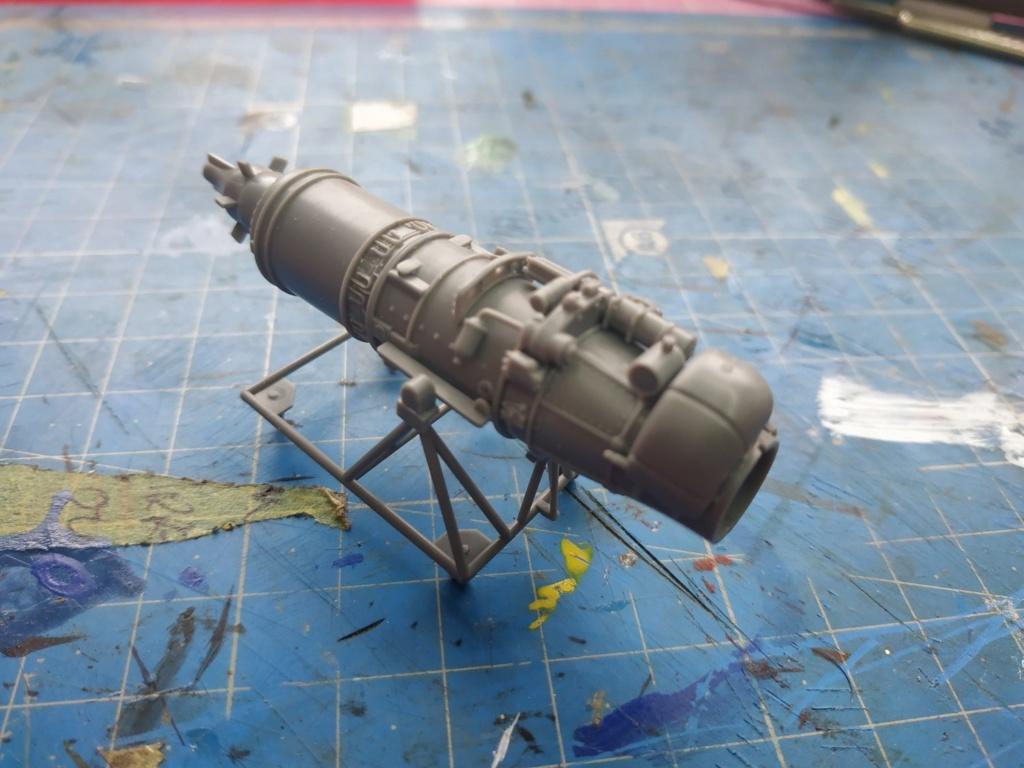 "He162 A-2  Salamander   Tamiya 1/48  -  ""montage  usine  avant peinture""   Image171"
