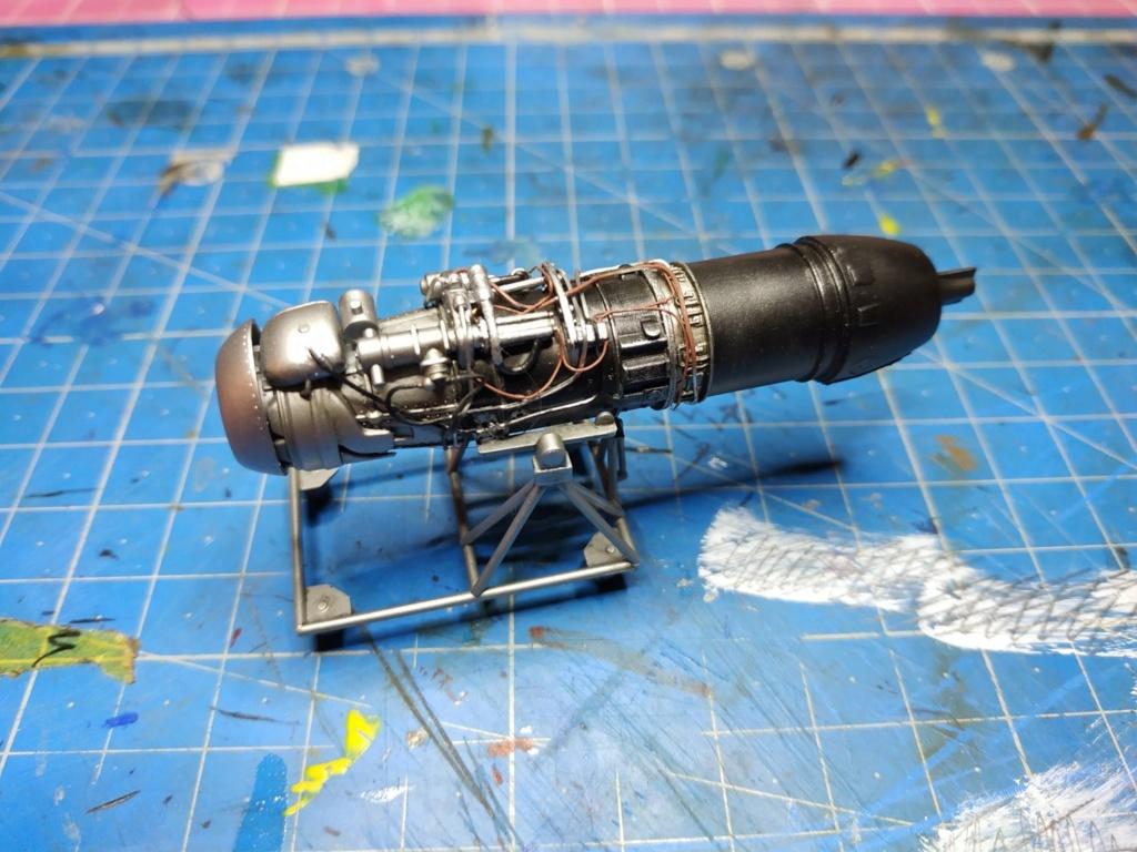 "He162 A-2  Salamander   Tamiya 1/48  -  ""montage  usine  avant peinture""   Image173"