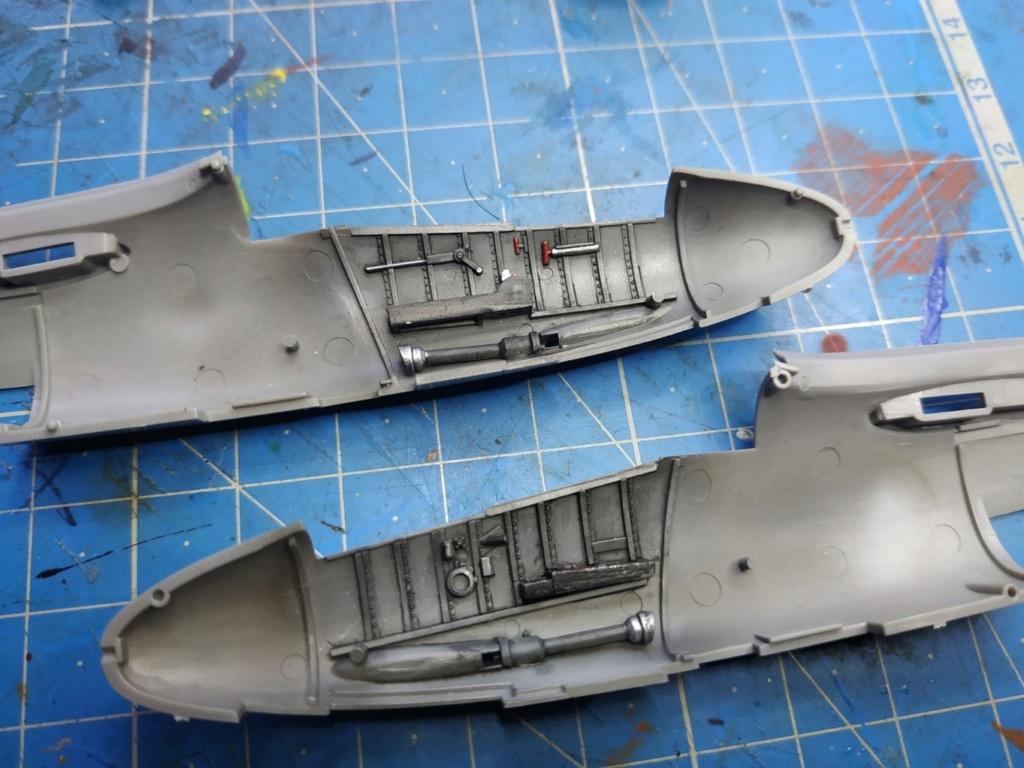 "He162 A-2  Salamander   Tamiya 1/48  -  ""montage  usine  avant peinture""   - Page 2 Image177"