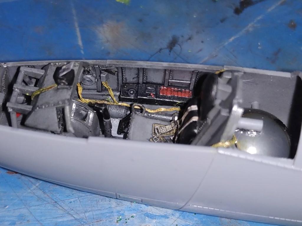 "He162 A-2  Salamander   Tamiya 1/48  -  ""montage  usine  avant peinture""   - Page 2 Image262"