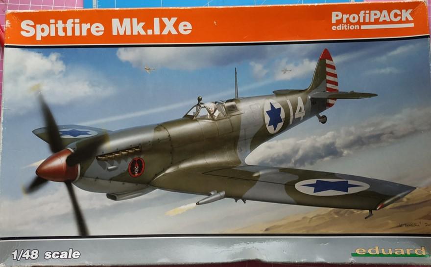 spitfire IXe Armée de l'air -   indochine  vautré    - 1/48 eduard +  plein de résine  Image408