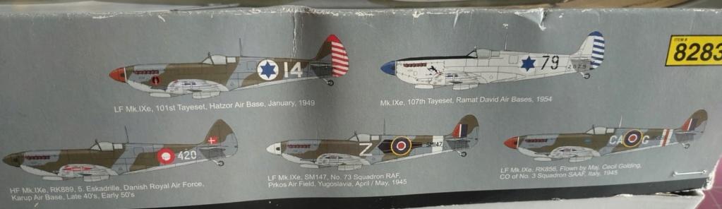spitfire IXe Armée de l'air -   indochine  vautré    - 1/48 eduard +  plein de résine  Image470
