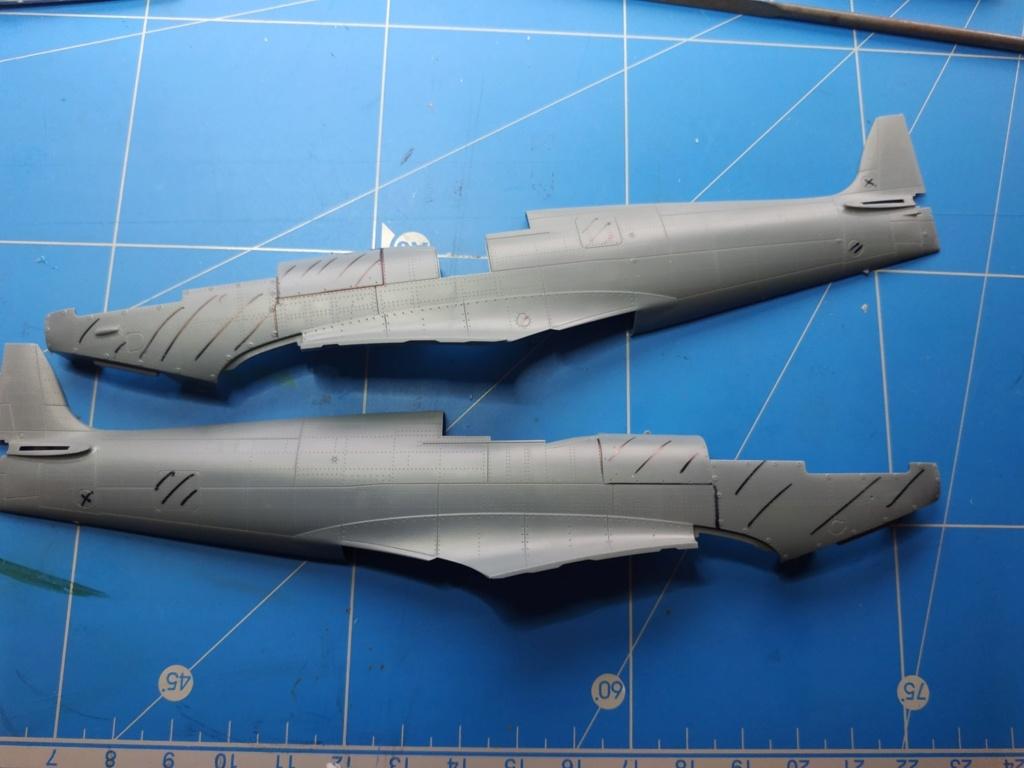 spitfire IXe Armée de l'air -   indochine  vautré    - 1/48 eduard +  plein de résine  Image484