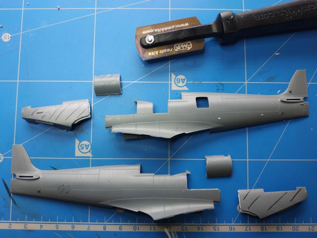 spitfire IXe Armée de l'air -   indochine  vautré    - 1/48 eduard +  plein de résine  Image485