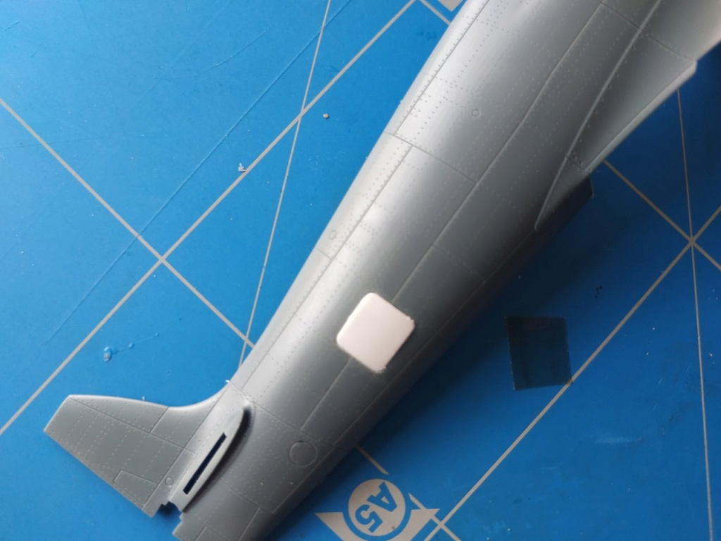 spitfire IXe Armée de l'air -   indochine  vautré    - 1/48 eduard +  plein de résine  Image490