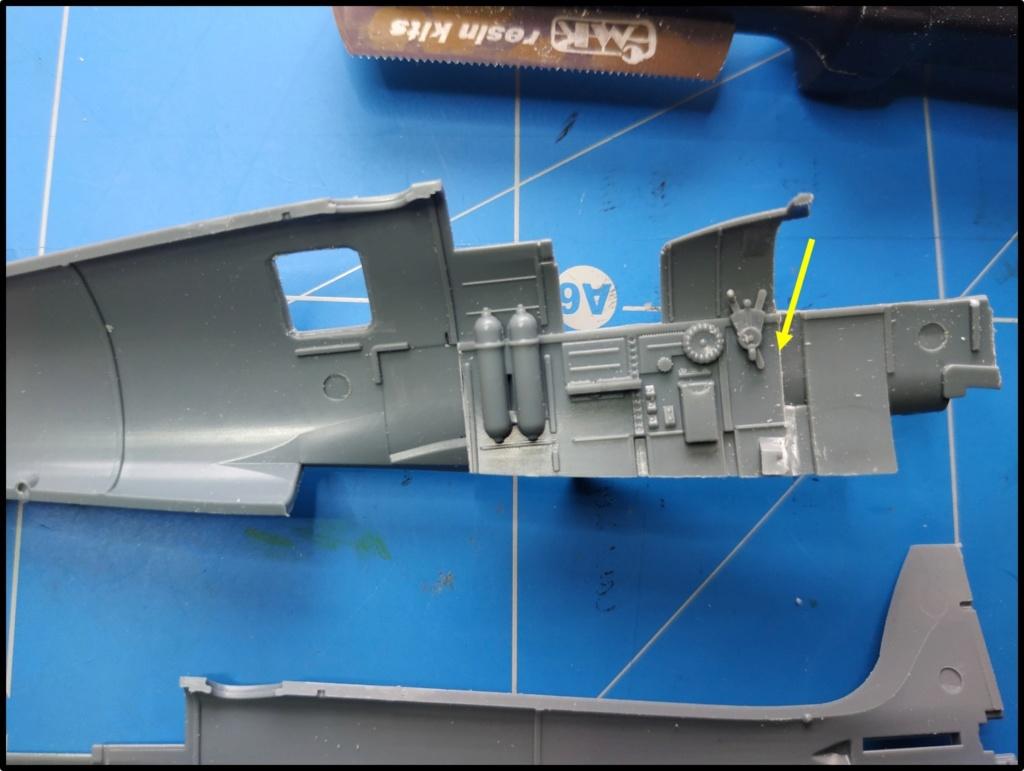 spitfire IXe Armée de l'air -   indochine  vautré    - 1/48 eduard +  plein de résine  Image496