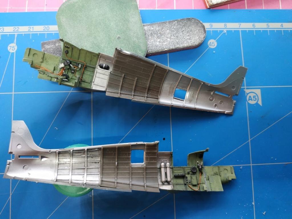 spitfire IXe Armée de l'air -   indochine  vautré    - 1/48 eduard +  plein de résine  - Page 2 Image573