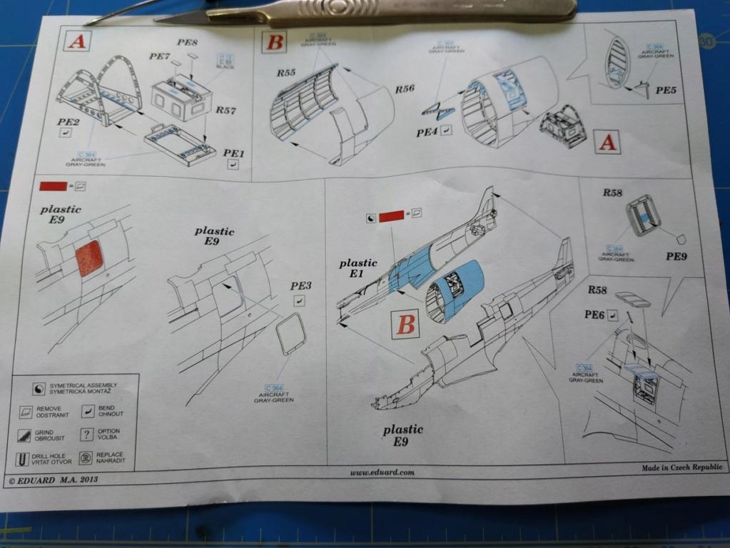 spitfire IXe Armée de l'air -   indochine  vautré    - 1/48 eduard +  plein de résine  - Page 2 Image574