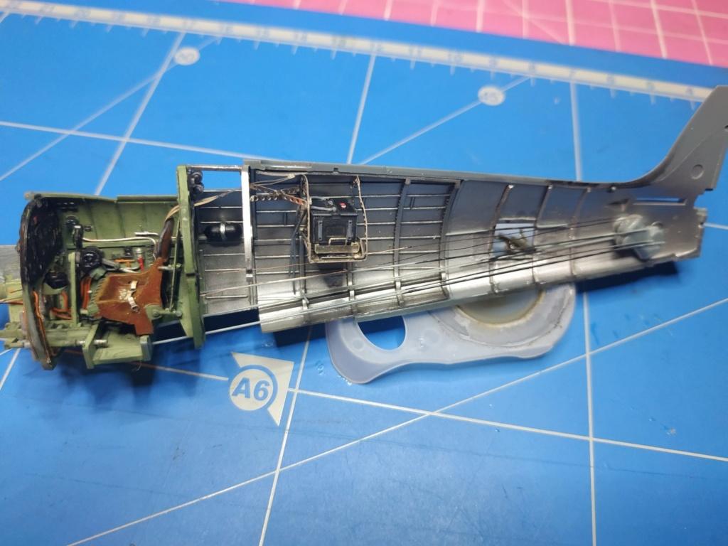 spitfire IXe Armée de l'air -   indochine  vautré    - 1/48 eduard +  plein de résine  - Page 2 Image670