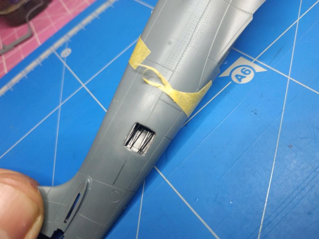 spitfire IXe Armée de l'air -   indochine  vautré    - 1/48 eduard +  plein de résine  - Page 2 Image672