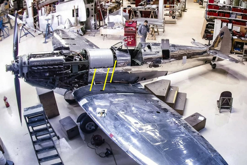 spitfire IXe Armée de l'air -   indochine  vautré    - 1/48 eduard +  plein de résine  - Page 6 Image858