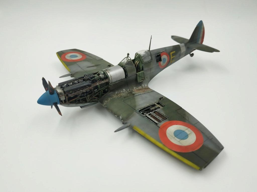 spitfire IXe Armée de l'air -   indochine  vautré    - 1/48 eduard +  plein de résine  - Page 6 Image865