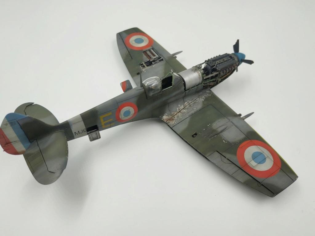 spitfire IXe Armée de l'air -   indochine  vautré    - 1/48 eduard +  plein de résine  - Page 6 Image870