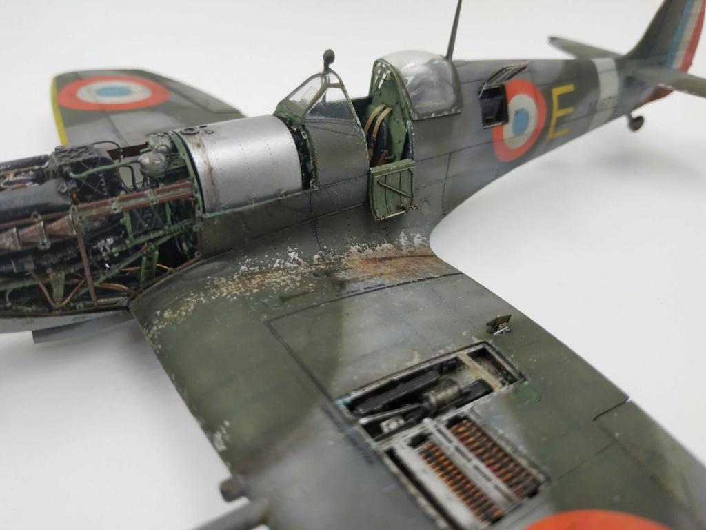 spitfire IXe Armée de l'air -   indochine  vautré    - 1/48 eduard +  plein de résine  - Page 6 Image872