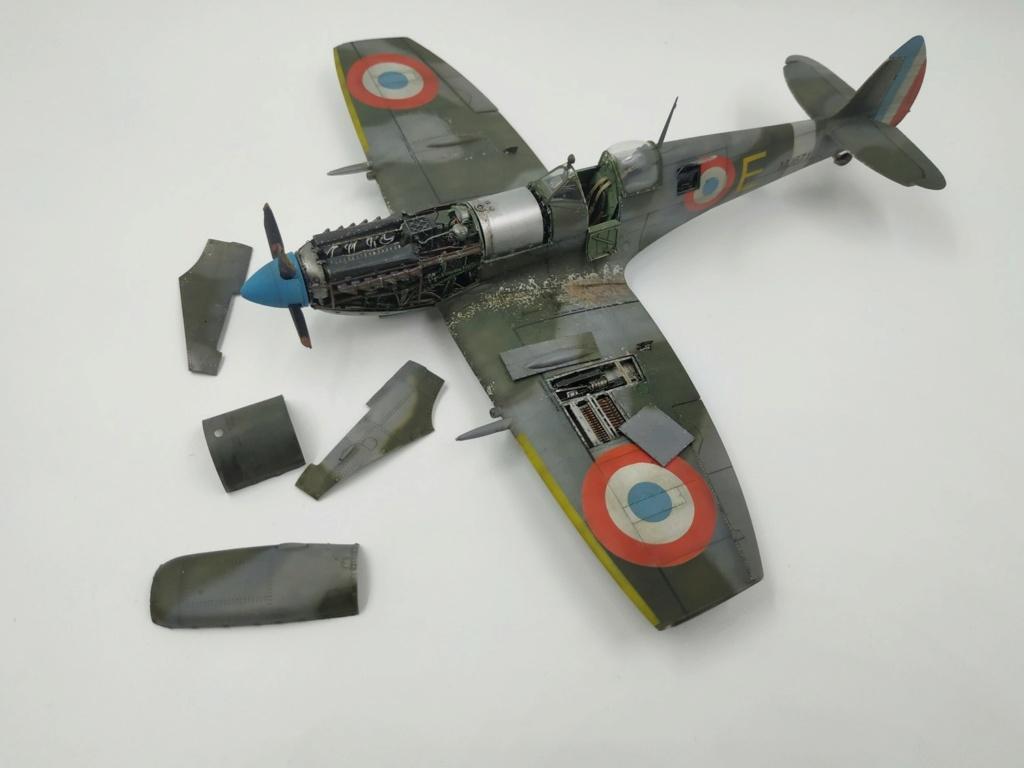 spitfire IXe Armée de l'air -   indochine  vautré    - 1/48 eduard +  plein de résine  - Page 6 Image873