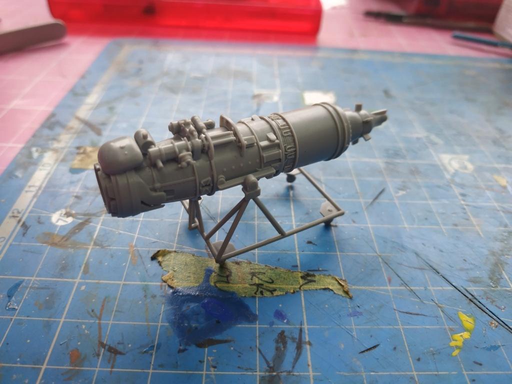 "He162 A-2  Salamander   Tamiya 1/48  -  ""montage  usine  avant peinture""   Image914"