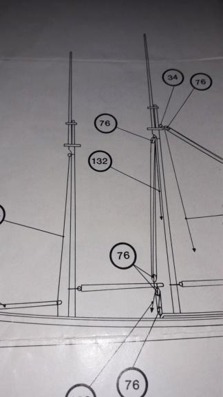 couture, collage ou anneaux pour voile sur mâture déjà en place 111