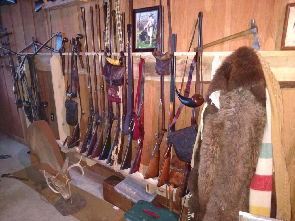 A rack for the guns Gun-ha10