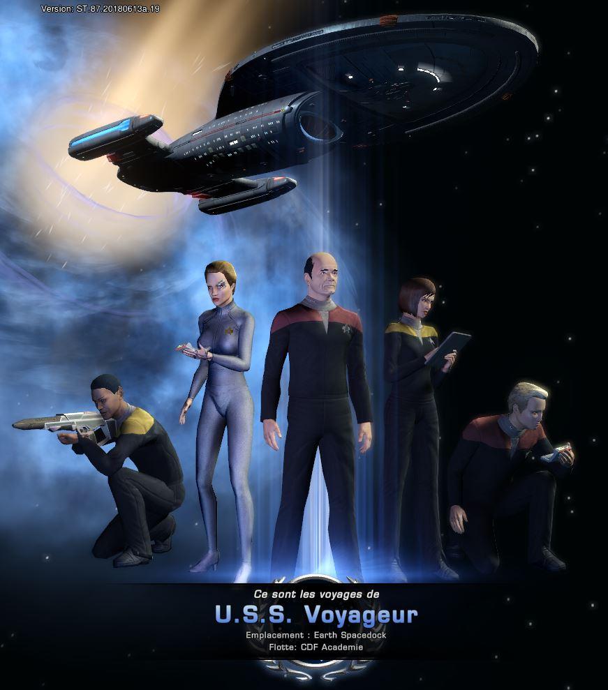 """Configuration """"Voyager"""" du Vaisseau Scientifique de Longue Portée Modernisé Captu122"""