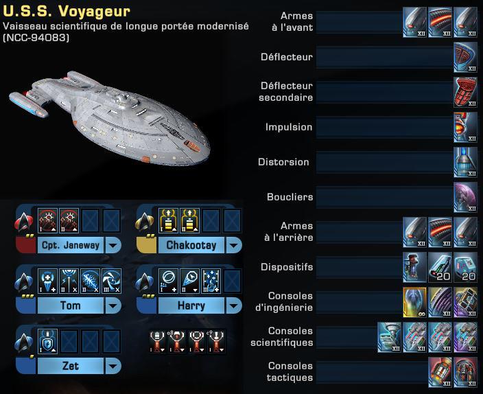 """Configuration """"Voyager"""" du Vaisseau Scientifique de Longue Portée Modernisé Captu124"""
