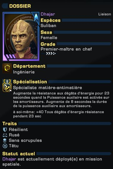 """Configuration """"Enterprise"""" du Croiseur d'Exploration Modernisé Captu134"""