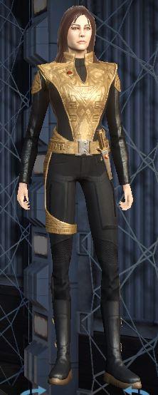 Personnage du genre à Philippa Georgiou sur extraterrestre Captu526