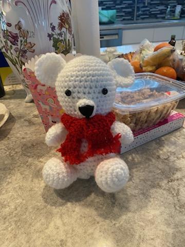 khoe những tác phẩm mình crochets nha Bear10