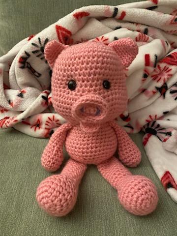 khoe những tác phẩm mình crochets nha Piggy10