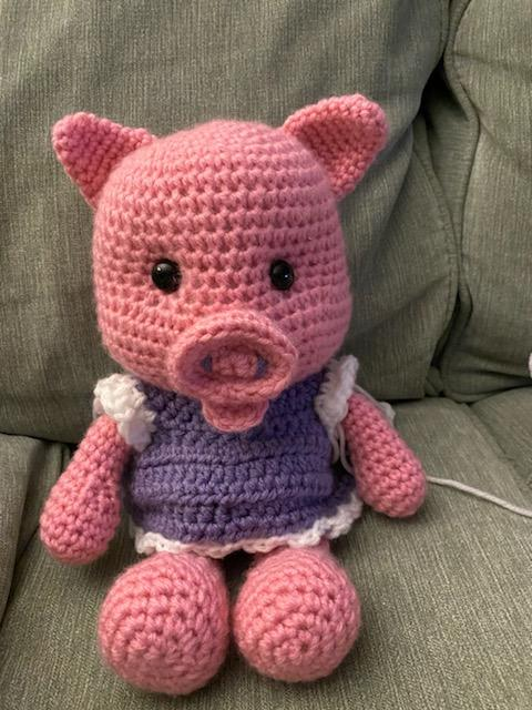 khoe những tác phẩm mình crochets nha Piggy_10