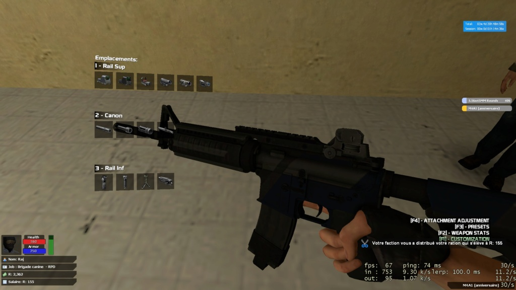 [Refusée] Remplacer l'AK103 de la K9 20180911