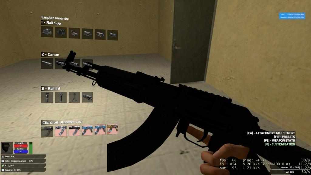 [Refusée] Remplacer l'AK103 de la K9 20180912